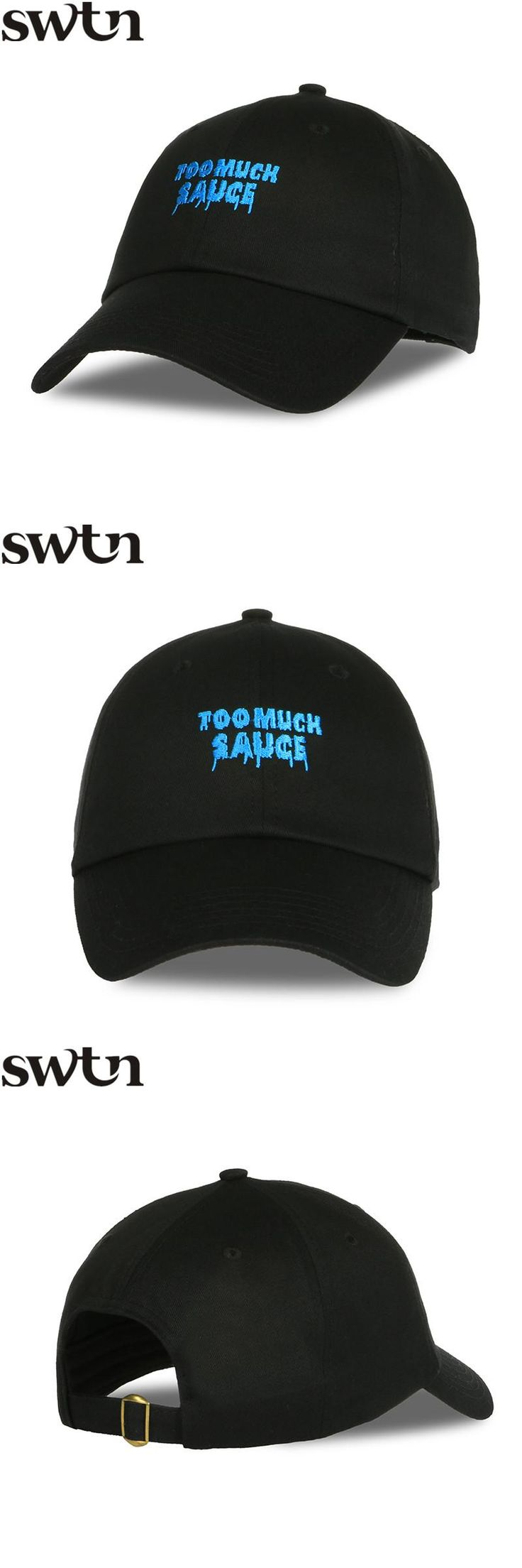 [Visit to Buy] SWTN Hot Too Much Sauce Letter Embroidery Vintage Girl Baseball Cap Women Dad Hat usa gorras mujer moda gorras mujer de marcas #Advertisement