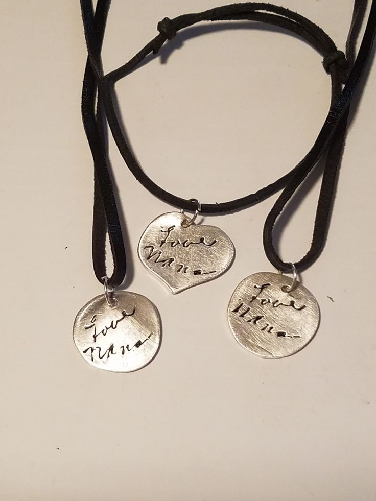 EDITOR'S CHOICE (12/19/2016) Handmade Signature Tags in Silver by Imperfectly Beautiful Designs by Lorri View details here: http://jewelers.community/creations/4108-handmade-signature-tags-in-silver