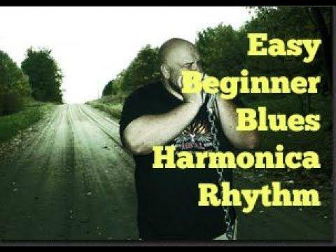 Blues harmonica lick