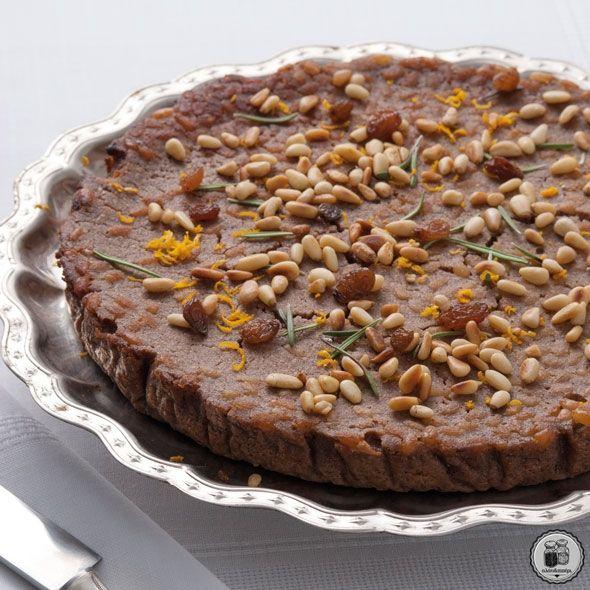 Castagnaccio από την Τοσκάνη (κέικ κάστανου)