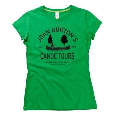 Joan Burton's Canoe Tours Girls T-Shirt by HairyBaby.com | Limited Edition Print