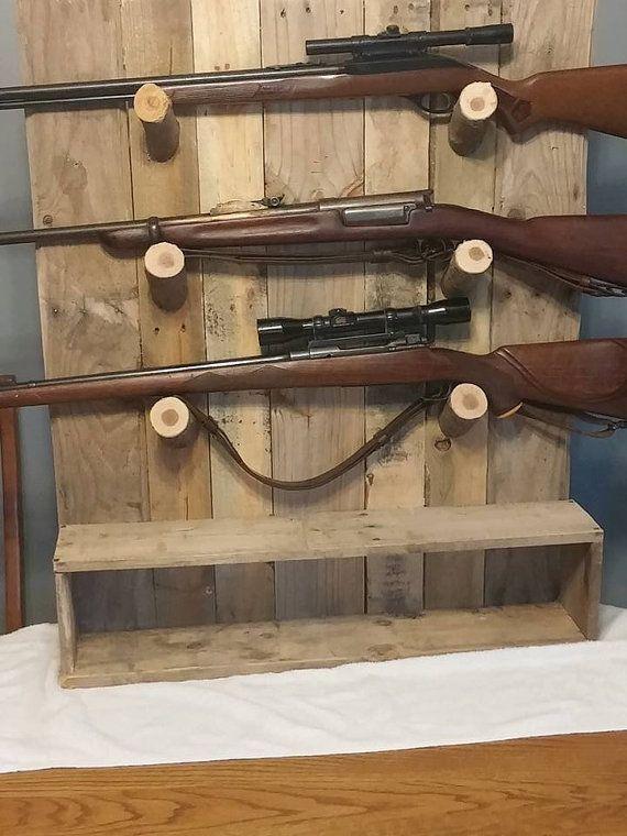 Rustic Gun Rack Gun Display Love You Ibrah Guns Gun