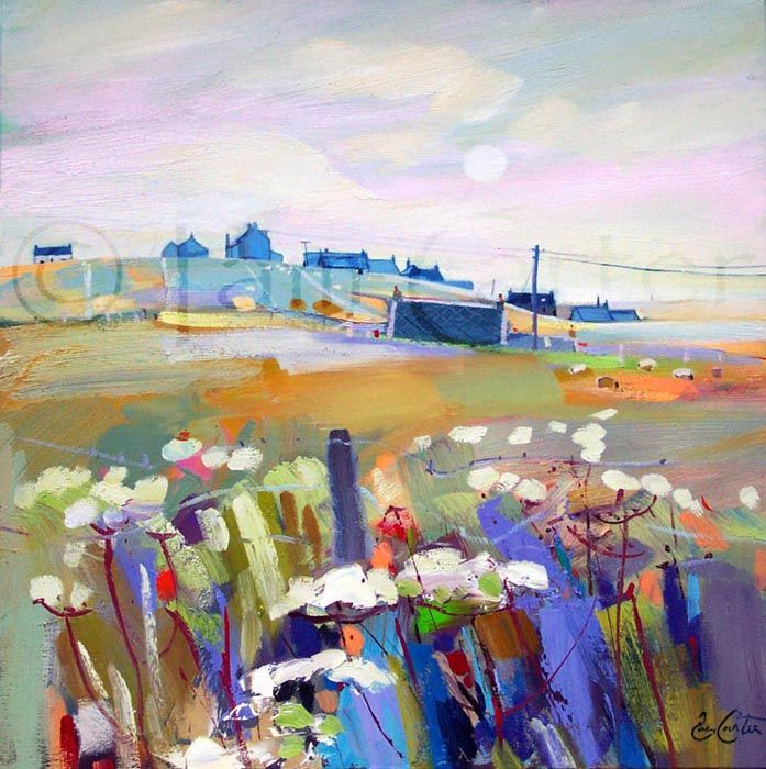 Pam Carter - good example of foreground and background