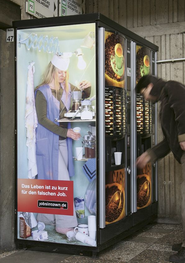 Jobs in Town.de 'coffee':'Life's too short for the wrong job'