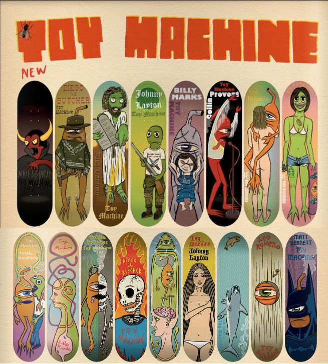 Toy Machine -Archives-