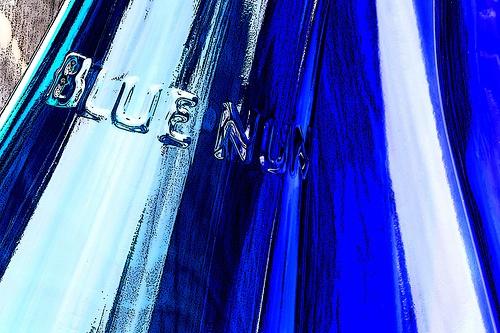 Blue Nun Wine Bottles Poster, via Flickr.