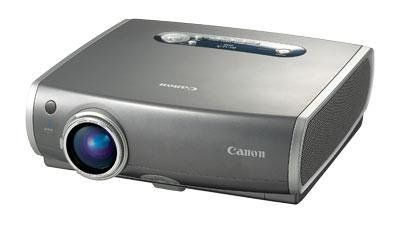 CANON REALIS SX50 LCD Multimedia Computer Video Projector. Includes Realis SX50 Projector; Wireless Remote Control; Computer Cable (DVI-VGA); Component Video Adapter Cable. Mouse Control Cable; Lens Cap; Soft Carrying Case; Power Cable; Warranty Card.