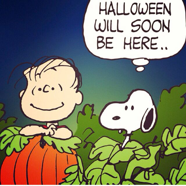 halloween peanuts cartoonpeanuts - Charlie Brown Halloween Cartoon