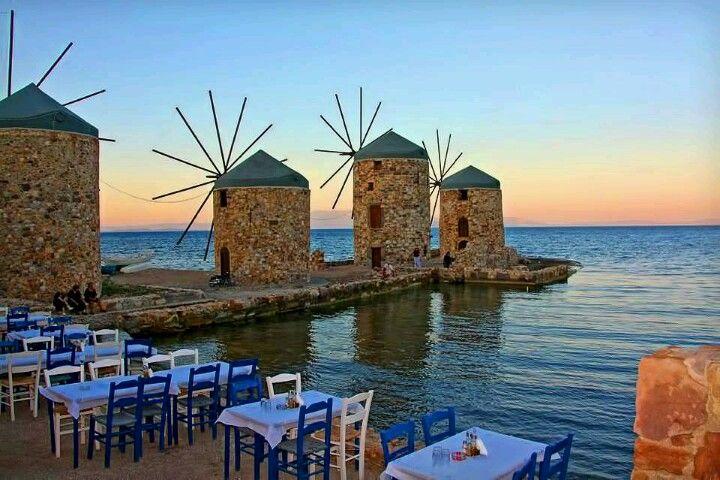Tavern in Chios island
