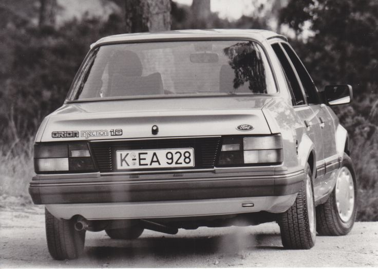 Ford Orion Injection 1.6