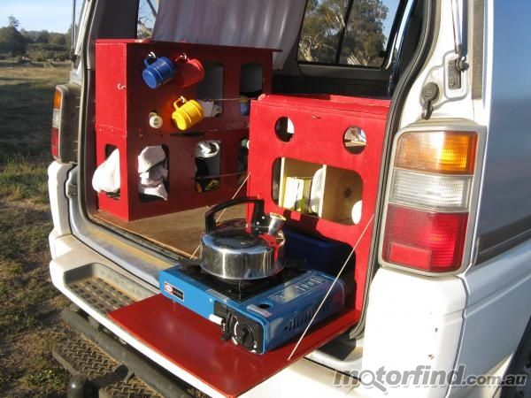 1000 images about delica modification ideas on pinterest for Kitchen design 4x4
