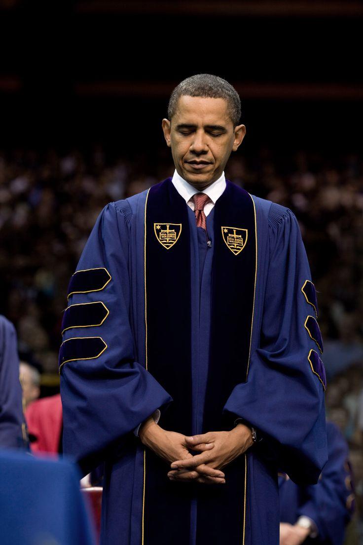 images of president obama | Description President Barack Obama at Notre Dame University 05-17-09 ...