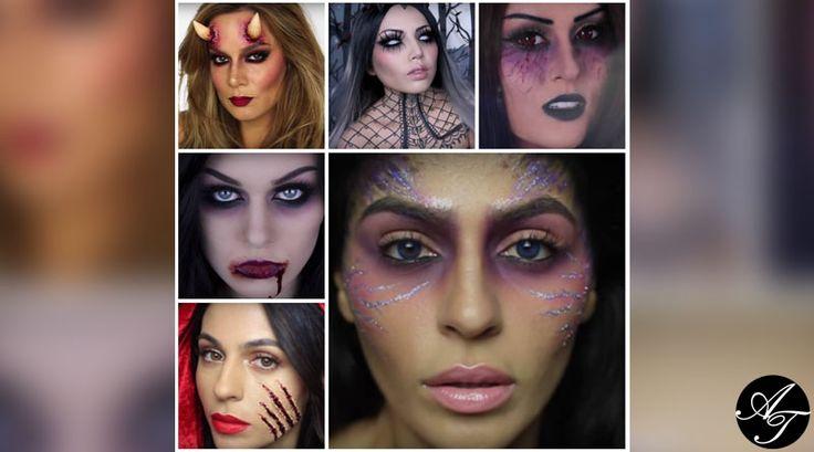 6 идей образов для Хэллоуин 2015.