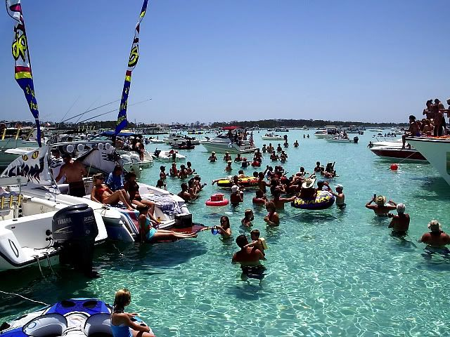 Always A Party At Crab Island Destin Fl Places Pinterest