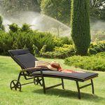 Leżaki, leżanki ogrodowe