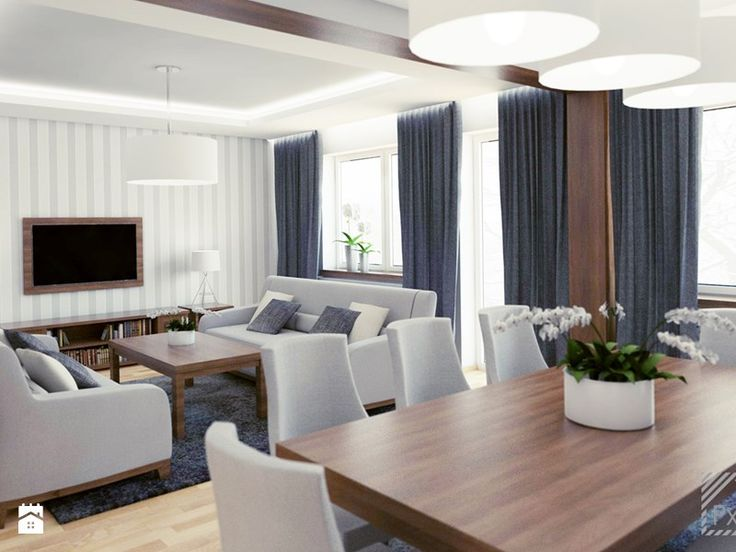 Lampy salon i jadalnia