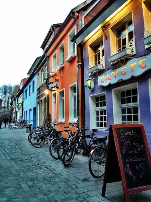 Muensters Colourful Bars and Restaurants
