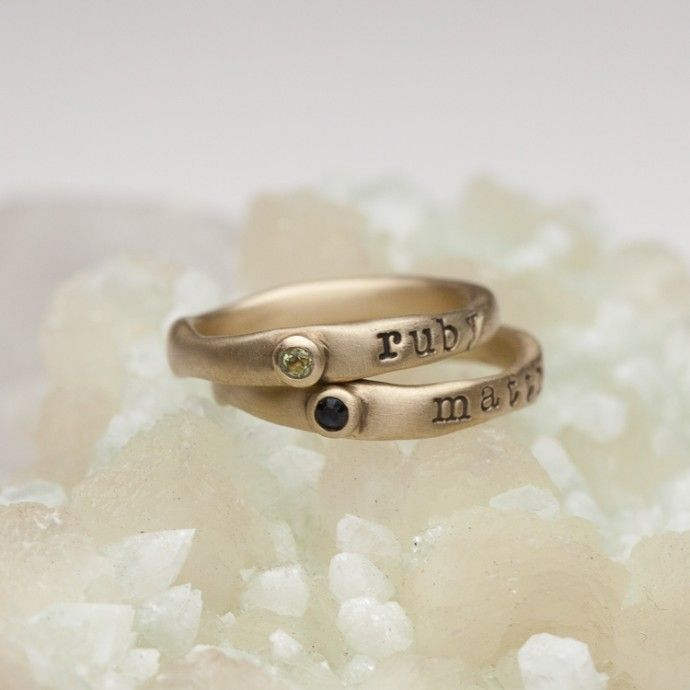 Personalized Birthstone Ring {10K Gold} by Lisa Leonard Designs