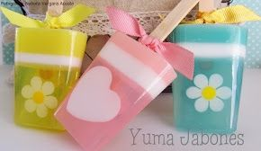 Jabones Decorativos para uso diario. Hacemos Jabones para todo tipo de eventos y regalos corporativos.