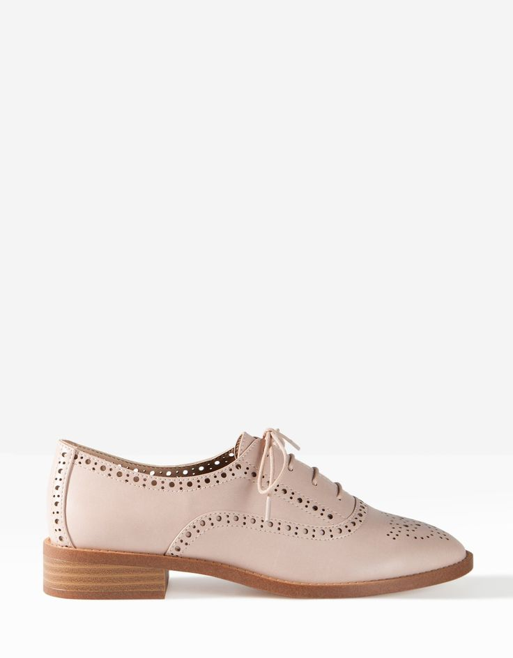 Punched brogues