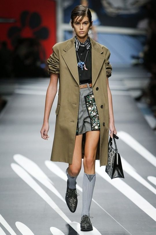 """Business-Appropriate"" dress codes have gone the way of the fax machine The trickle down effect of this trend might take a while, but on the runways, office-appropriate clothing got a serious makeover. Blazers were paired with embellished short shorts at Prada and loose, '90s-"