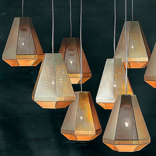 Cell Tall Pendant by Tom Dixon at Lumens.comPendants Lamps, Tom Dixon, Trav'Lin Lights, Tall Pendants, Cell Pendants, Dixon Cell, Cell Tall, Pendants Lights, Tomdixon