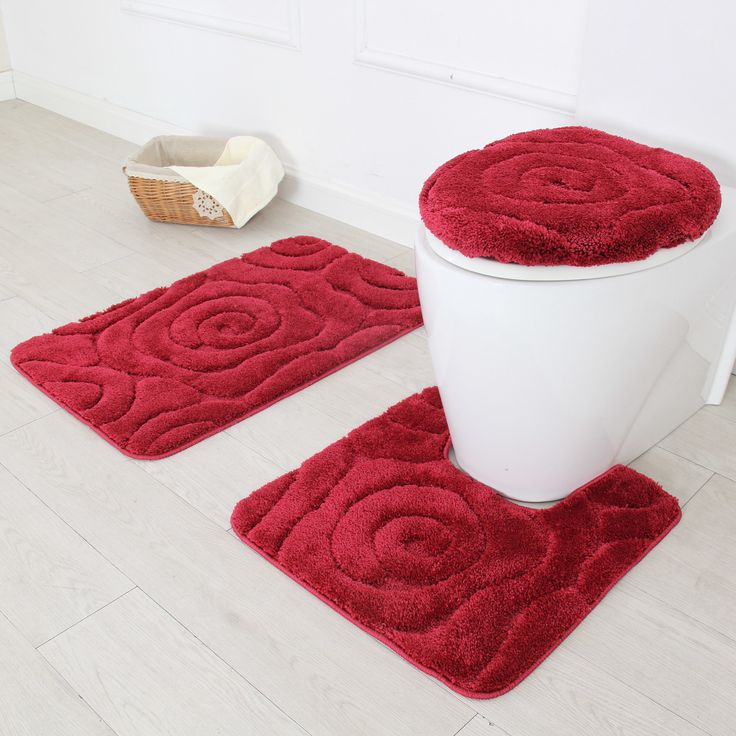 Prestige 3 Piece Bath Rug Set Bath Rugs Sets