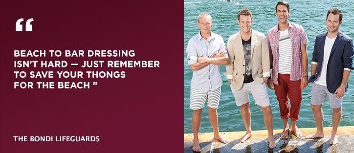 Bondi Lifeguards of Bondi Rescue - on The Mens Shop.com.au