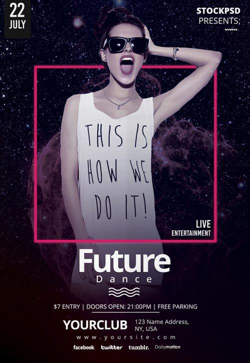 Future Dance Party Free PSD Flyer Template - http://freepsdflyer.com/future-dance-party-free-psd-flyer-template/ Enjoy downloading the Future Dance Party Free PSD Flyer Template created by Stockpsd!   #Club, #Dance, #Dj, #EDM, #Electro, #Gig, #Live, #Music, #Nightclub, #Party, #Sound, #Techno, #Trance