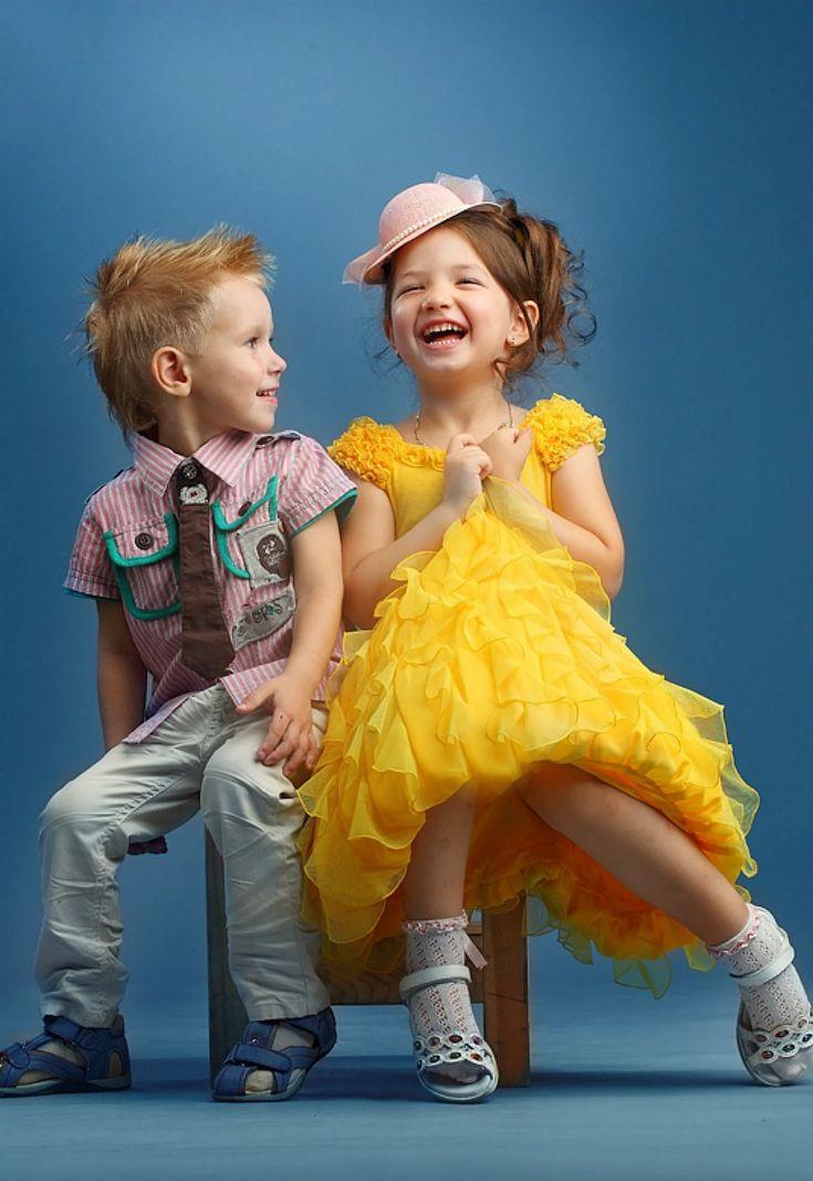 Прикольные картинки девочка с мальчиком