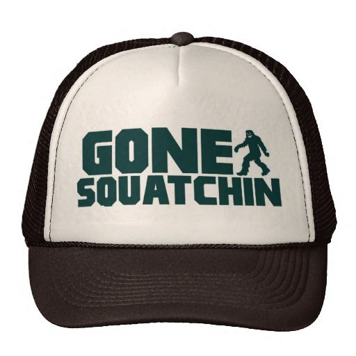 Bobo GONE SQUATCHIN Hat Finding Bigfoot @Wesley Piper Thompson  lets wear these to sassy next year