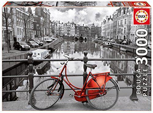 Educa - 16018 - Puzzle Classique - Amsterdam - 3000 Pièces #Educa #Puzzle #Classique #Amsterdam #Pièces