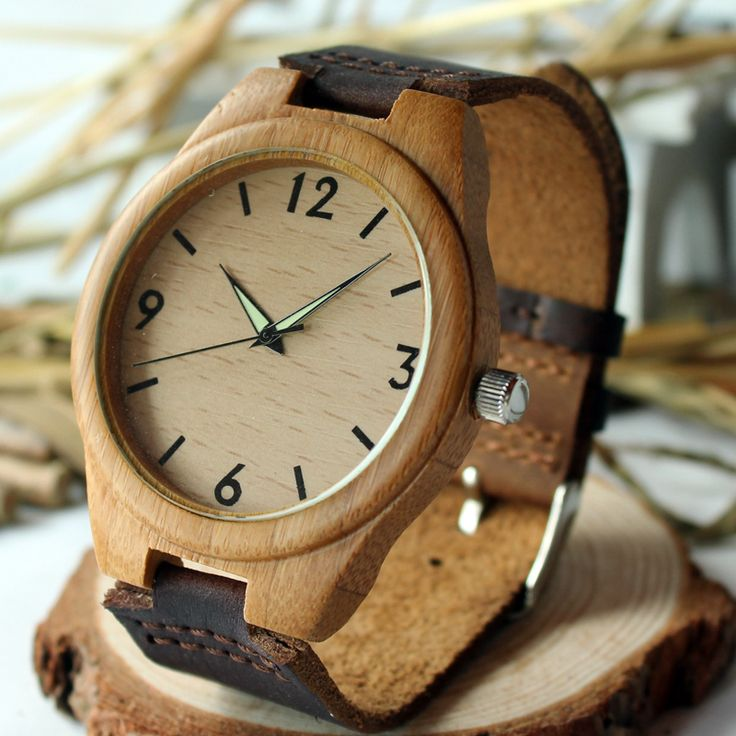 Trendy Top Brand Wooden Watches Big Sale http://timecreatives.com/wooden-watch-men-hand-crafted-luminous-hands-with-genuine-leather-strap/ //Price: $38.99 & FREE Shipping //     #watches #watchesformen #wristwatch #fashion