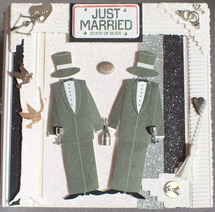 Hochzeitskarte für Männer, Homosexuelle,Homo-Ehe, Schwule