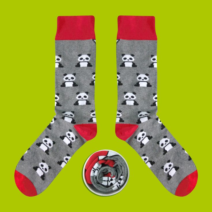 Model: Brzuchata panda zwana wspaniałą Seria: I can't sleep alone [|] #skarpetki #cupofsox #skarpetka #socks #sock #womensocks #mensocks #koloroweskarpetki [|]