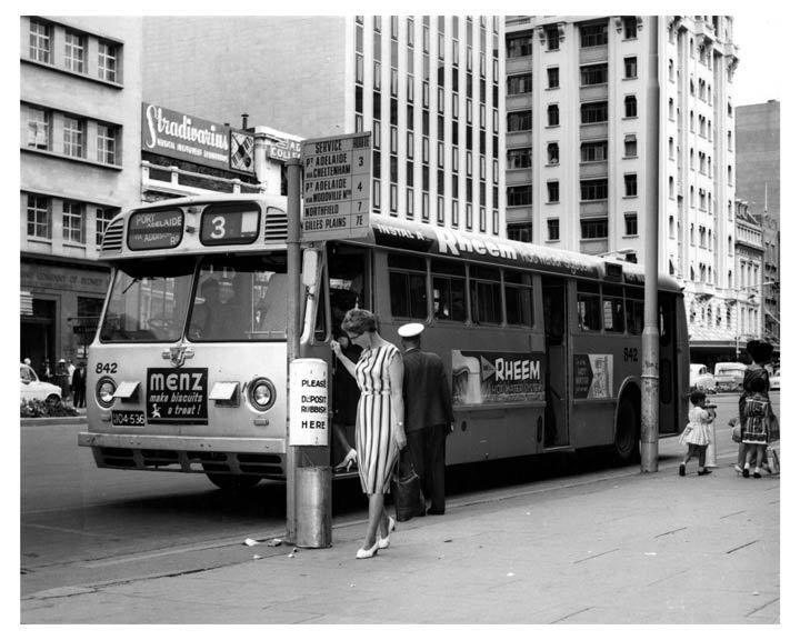 1964 Leyland Bus Factory Photo Port Adelaide Australia