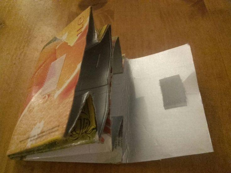 Portofel pentru copii – Reciclare cutie carton – La Mihu