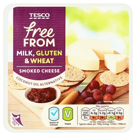 Tesco Free From Smoked Cheese Alternative 200G - Groceries - Tesco Groceries
