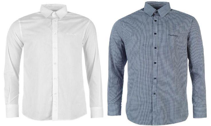Groupon Goods Global GmbH: Pack de 1 ou 2 chemises Pierre Cardin pour homme