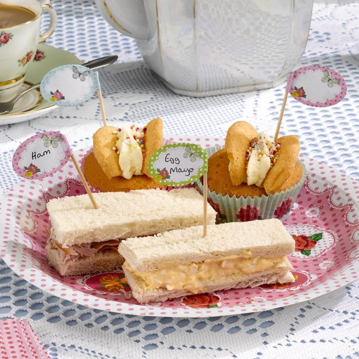 Vintage Food canapés, label food and sweet treats. Great for vintage weddings, tea parties and vintage celebrations. www.fuschiadesigns.co.uk