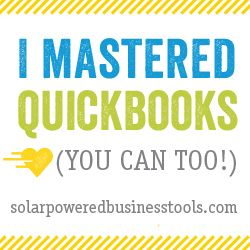 I could not recommend this quickbooks tutorial more! It will do wonders for the organization of your business!