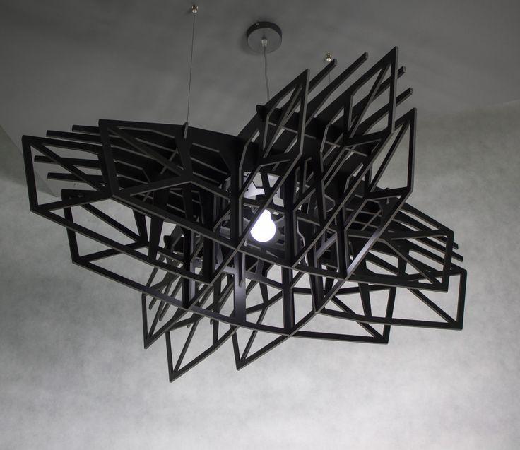 lampa wisząca CZARNA GWIAZDA - nasu