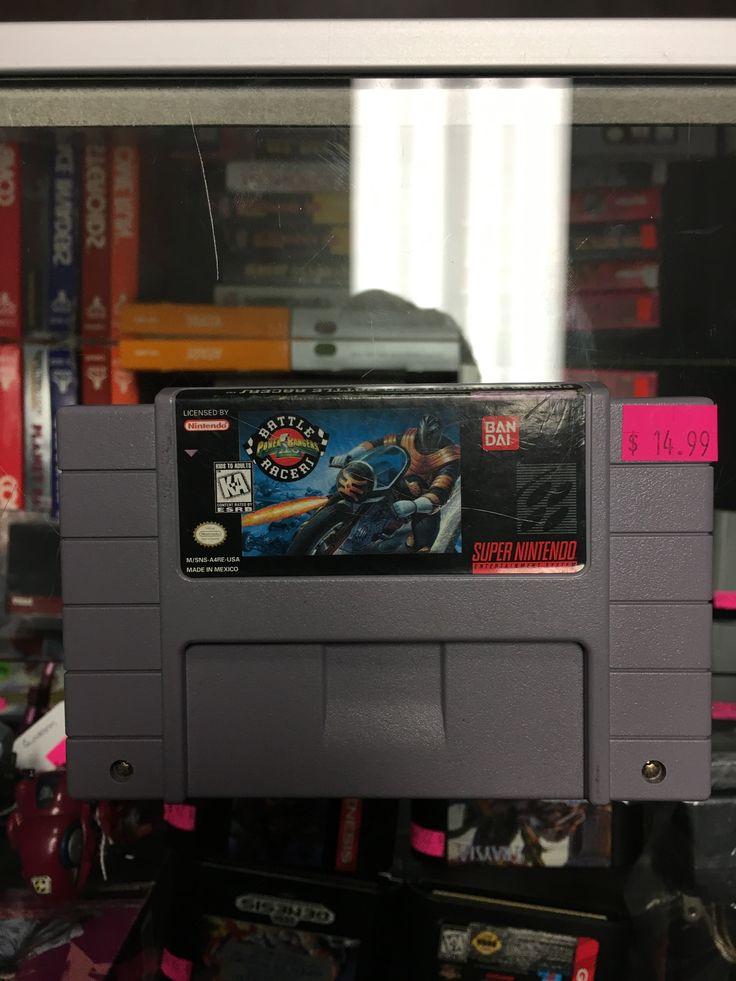 Super Nintendo SNES Power Rangers Zeo Battle Racers