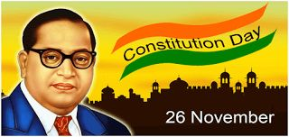 Constitution day: 26th November   26 November2016-------------------------------  The Constitution Day of Indiais being observed on26th Novemberto spread awareness of Indian Constitution. On this day in 1949 constitution of India was adopted and came into force on January 26 1950 marking the beginning of a new era in the history of free India.  The Union Ministry of Social Justice and Empowerment (MSJE)is the nodal Ministry for the celebration of Constitution Day. This year it is second…