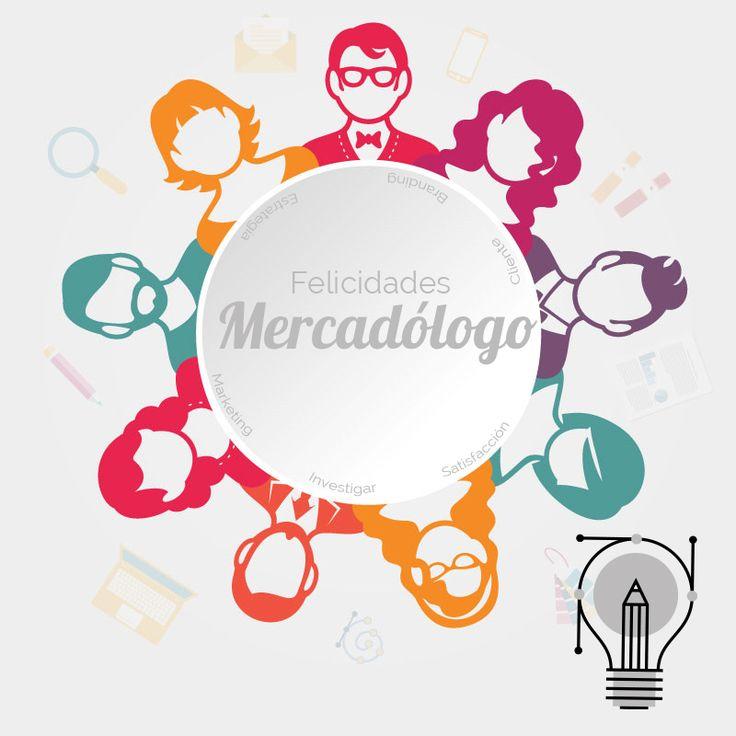 Felicidades al profesional indispensable en toda empresa! #diadelMercadologo #marketing #brand #branding