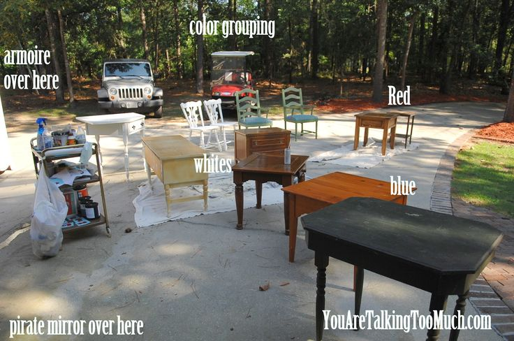 "How to ""flip"" furniture on Craigslist or anywhere. Great tutorials from YouAreTalkingTooMuch.com"