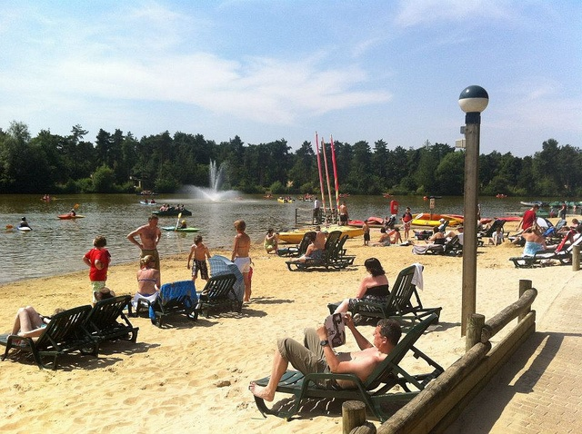 The Beach at Elveden Forest by Center Parcs UK, via Flickr