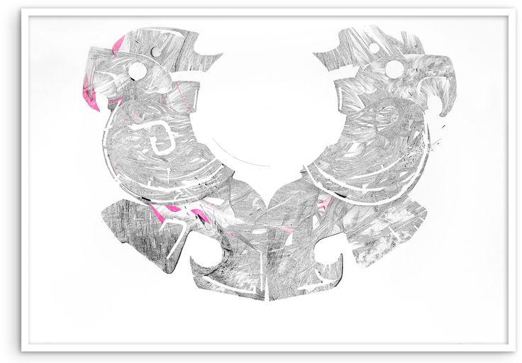 #KatarzynaBudka #talisman  #ink #paper #drawing  www.projectbu.com