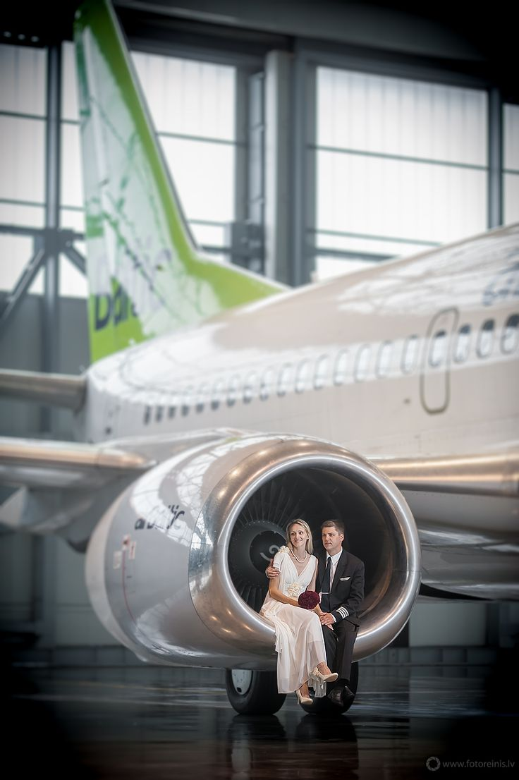 Pilot wedding in Latvia