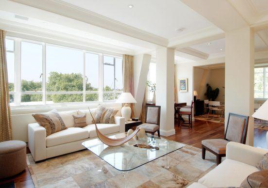 Luxury Chelsea Apartment By Indigo Design Associates